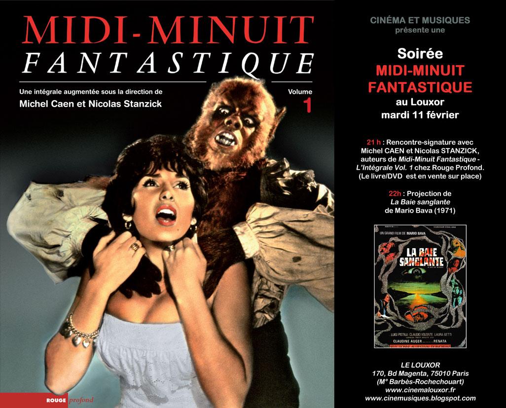 Soirée Midi-Minuit Fantastique, le 11 février, au cinéma Le Louxor