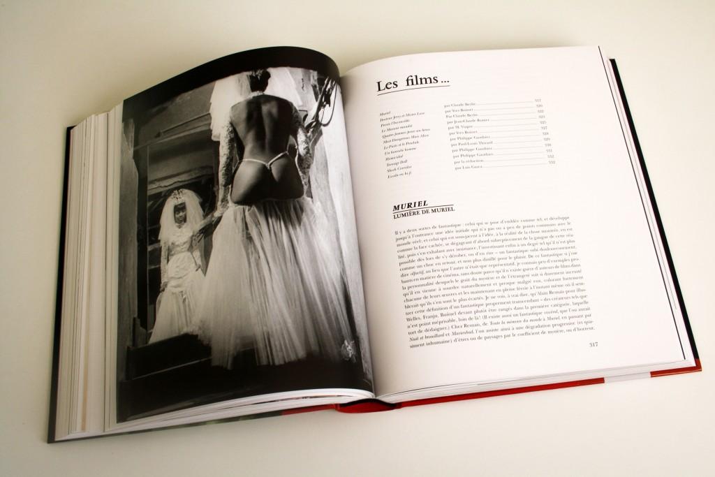 Pages du volume 2 de L'Intégrale Midi-Minuit Fantastique (Rouge Profond), dirigé par Nicolas Stanzick