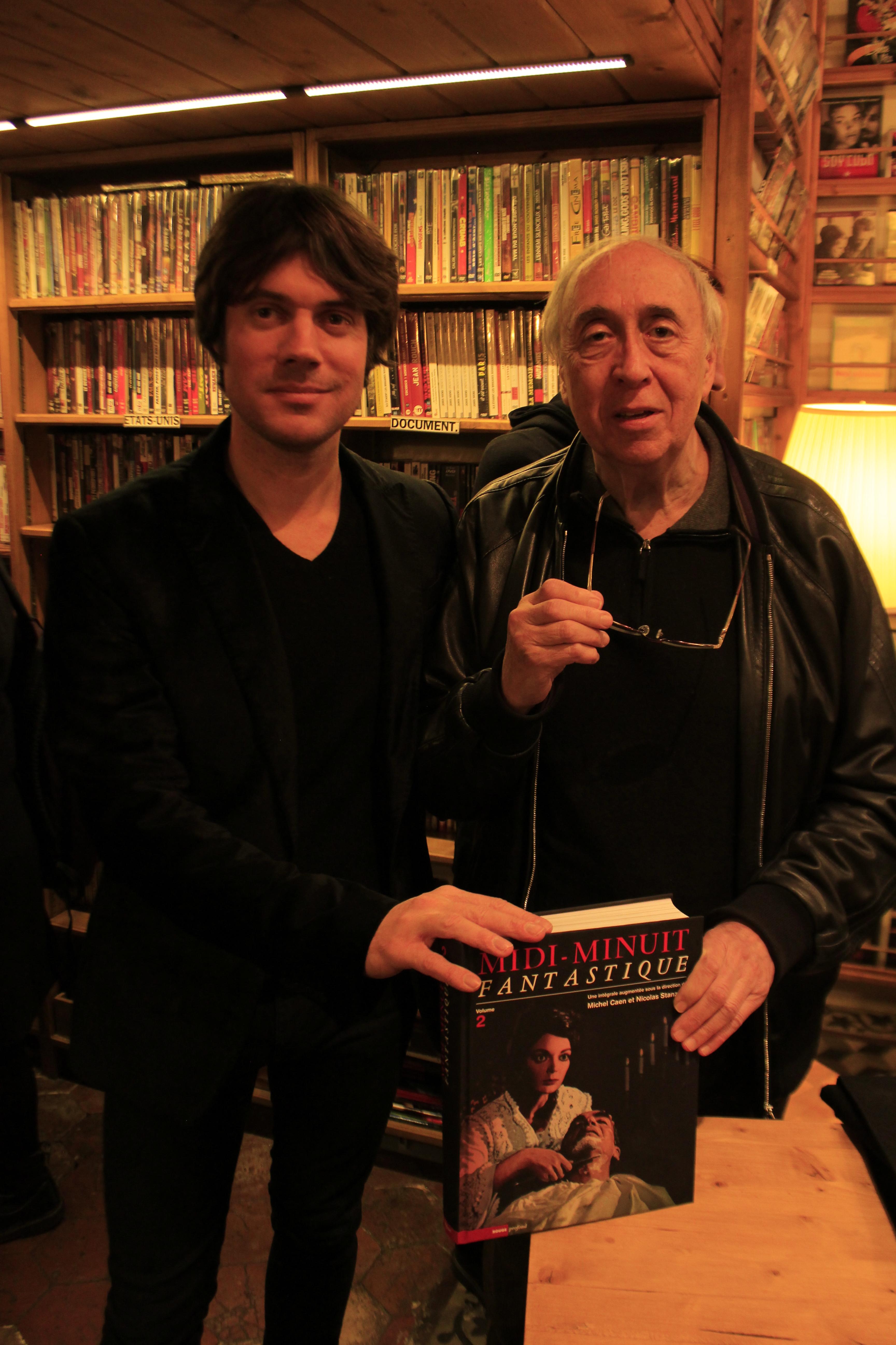 Soirée Midi-Minuit Fantastique, le 15 octobre, à Hors-Circuits, avec Nicolas Stanzick et Jean-Claude Romer
