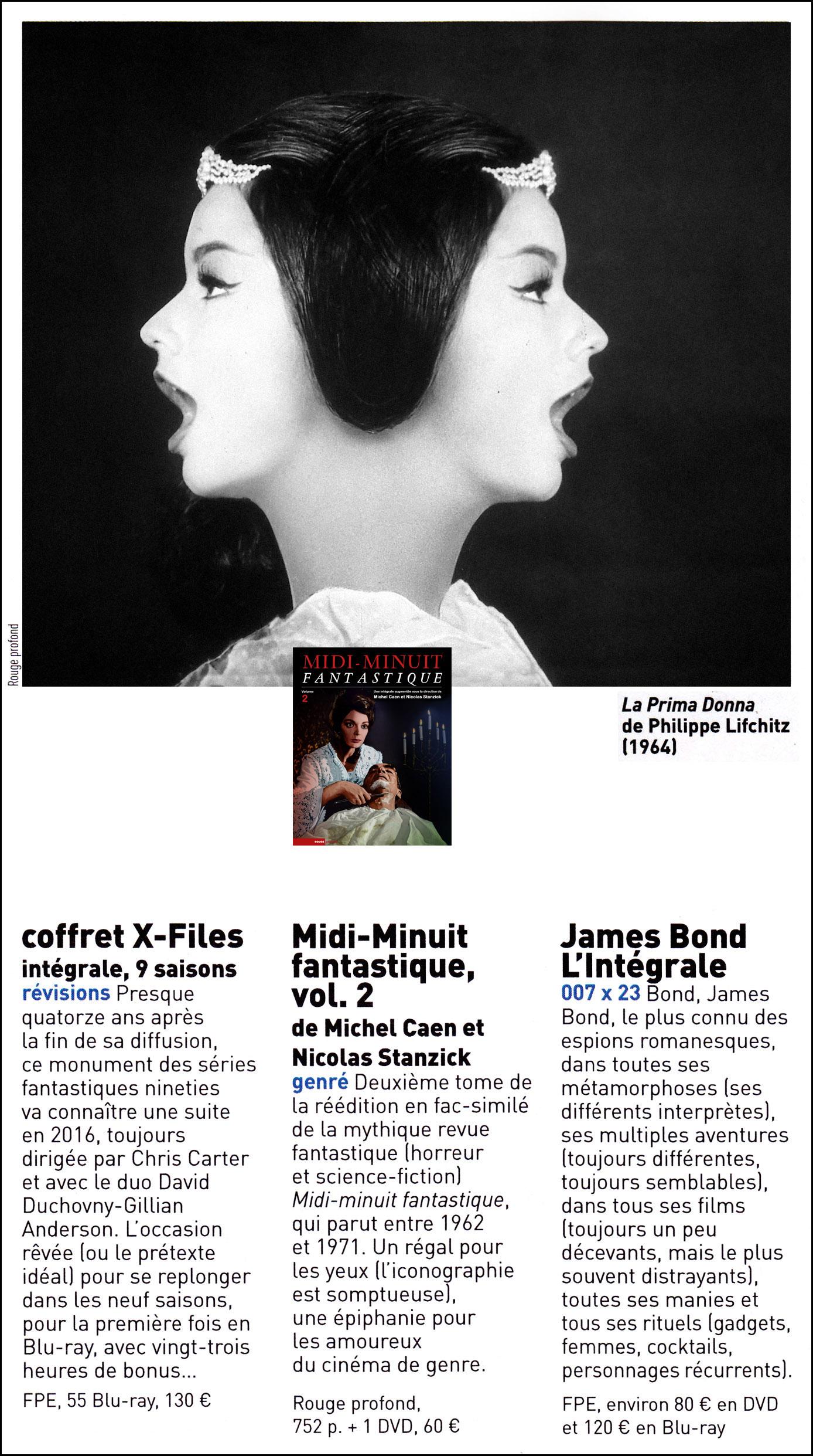 Midi-Minuit Fantastique dans Les Inrockuptibles, le 25 novembre, avec Nicolas Stanzick